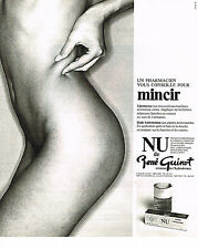 PUBLICITE ADVERTISING 024   1978   RENE GUINOT   cosmétiques NU