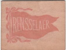 1910 Tobacco Leather Rensselaer Polytechnic Pennant