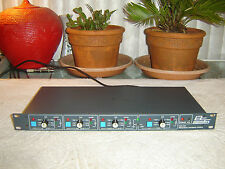 BSS FDS340, Frequency Dividing System, Crossover Limiter, Vintage Rack