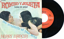 ROMEO Y JULIETA Tema de Amor 1969 Spain Single Henry Mancini Olivia Hussey