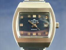1970s Vintage Jaquet Girard Automatic Mens Watch NOS 25 jewel ETA 2782
