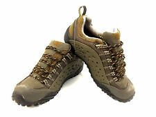 Merrell Men Brown Intercept Bungee Goretex Hiking Trail Shoes US Size 7.5
