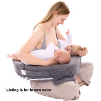 NEW My Brest Friend PLUS Size Nursing Breast Feeding Pillow for Twins 0-12 Mo