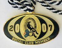 AFL Collingwood Football Club 2007 Social Member Badge Rare Vintage #12267 (H4)