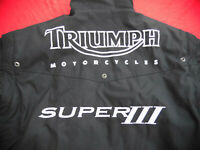 TRIUMPH JACKE 1200 SPEED TRIPLE 40 50 M RACE JACKET DAYTONA 900 SUPER III 3