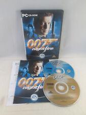 PC CD-Rom - James Bond 007 Nightfire
