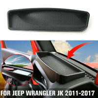 Car Front Dashboard Storage Box Tray Trim Accessories For Jeep Wrangler JK  ;`
