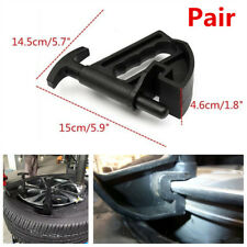 2Pcs Car Tire Changer Bead Clamp Drop Center Tool Rim Pry Wheel Changing Helper