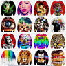 Men Women 3D T Shirt Funny Print Hoodie Sweater Sweatshirt Pullover Top Jumpers