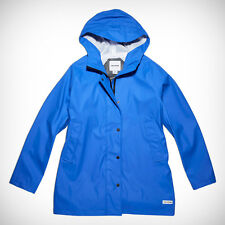 CONVERSE Women's Reflective Dot Raincoat - Size LARGE (blue)