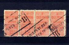Colis Postaux n° 30 oblitéré - Bande de 4