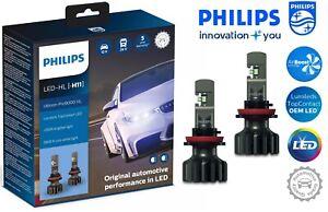 Philips H11 Ultinon Pro9000 LED Car Headlight Bulbs +250% 5800K 11362U90CWX2