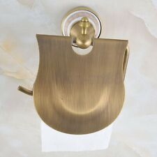 Antique Brass Bathroom Accessories Wall Mounted Toilet Paper Roll Holder fba574