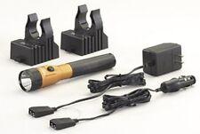 Streamlight 75646 Stinger Ds LED Flashlight Orange Ac/Dc 2 Holders