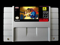 Beauty and the Beast SNES US Version