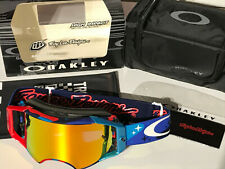 Oakley Airbrake MX Goggle TLD Signature 7046-28 cosmic camo RWB/fire irid. rare