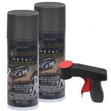 Plasti Dip Luxury Metal Spray, Citric Brown Metallic, 2 Cans, Cangun1 Trigger