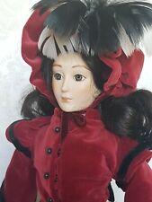 """Franklin Heirloom Doll """"Jo"""" From Little Women 1984 17"""" Tall"""