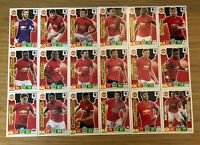 PANINI ADRENALYN XL PREMIER LEAGUE 2019/20 TEAM SET OF ALL 18 MANCHESTER UNITED