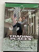 "NEW DVD - ""TRADING PLACES"" EDDIE MURPHY, DAN AYKROYD - RATED R, FACTORY SEALED"