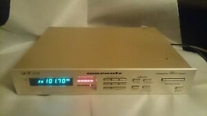 MARANTZ GOLD SERIES QUARTZ SYNTHESIZED AM/FM RADIO TUNER RECEIVER ST510