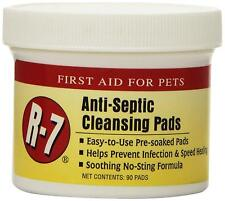 MIRACLE CARE R7 ANTISEPTIC FIRST AID 90 PADS HEALING INFECTION SOOTHING PAD
