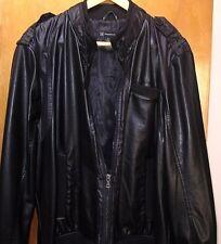 INC Faux Leather Jacket-----XL----50% OFF CLOSEOUT SALE