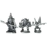 Wizard and Companions Warhammer Fantasy Armies 28mm Unpainted Wargames