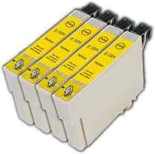 4 Yellow T1004 non-OEM Ink Cartridge For Epson T1006 Stylus SX515W SX600FW
