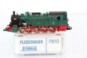 N Fleischmann 7810 KPEV 8184 Dampflok Tenderlok grün analog OVP/J55