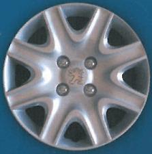 Serie 4 Copricerchi Coppa ruota 15 pollici stemma cromato PEUGEOT 308