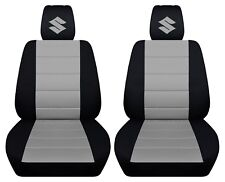 Fits 2005-2011 suzuki swift front set car seat covers , Separate headrest covers