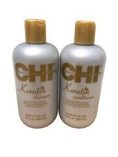 CHI Keratin Shampoo & Conditioner Set 12 OZ Each