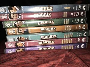 Lot of 7 Mannix DVDs - 1st, 2nd, 3rd, 4th, 5th, 6th, 7th Seasons Great Cond