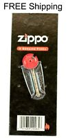 ORIGINAL GENUINE 6 FLINTS for Zippos Blu Fluid Lighter FLINT Refill Best Seller