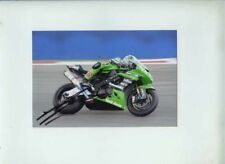 Tom Sykes Kawasaki WSB Kyalami 2010 Signed Photograph