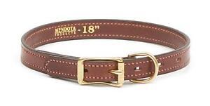 Narrow Leather  Dog Collar