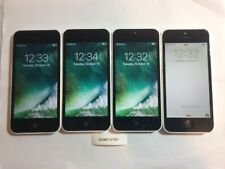 LOT OF FOUR TESTED WHITE AT&T GSM UNLOCKED APPLE iPhone 5C 16GB PHONES A67L