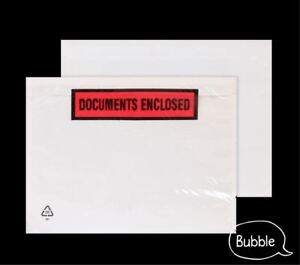 Documents Enclosed Envelopes A6 Wallets Plain or Printed High Quality