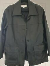Next Leather Womens Coat Size 14