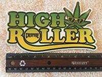 Creature Logo Skateboards Sticker, Authentic & Original, HIGH ROLLER, Very Cool