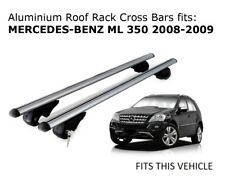 Aluminium Roof Rack Cross Bars fits MERCEDES BENZ ML 350 2008-2009