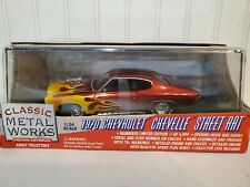 Classic Metal Works 1970 Chevy Chevelle Street Rat Custom 1:24 Scale Diecast Car