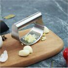 Stainless Steel Home Kitchen Garlic Press Crusher Rocking Mincer Manual Squeezer photo