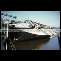 #php.01289 Photo SS NORMANDIE CGT NEW YORK 1940'S PAQUEBOT OCEAN LINER