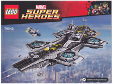 LEGO Marvel Agents Of Shield - 76042 Shield Helicarrier - No Box Sealed Contents