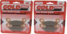 Brake Disc Pads Rear Goldfren For Polaris 400 Sportsman 2005
