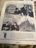 Q1-c Ephemera 1939 Advert Martini Vermouth Ritz Carlton Folded