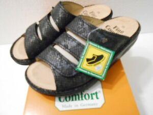 finn comfort damenpantolette gr. 38 neu modell andros finnamic