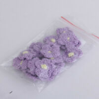 Impex Clear Flower Buttons G4191-M